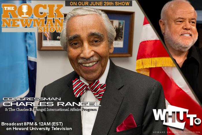 Website banner Charles Rangel