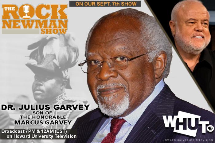 Website banner Dr Garvey